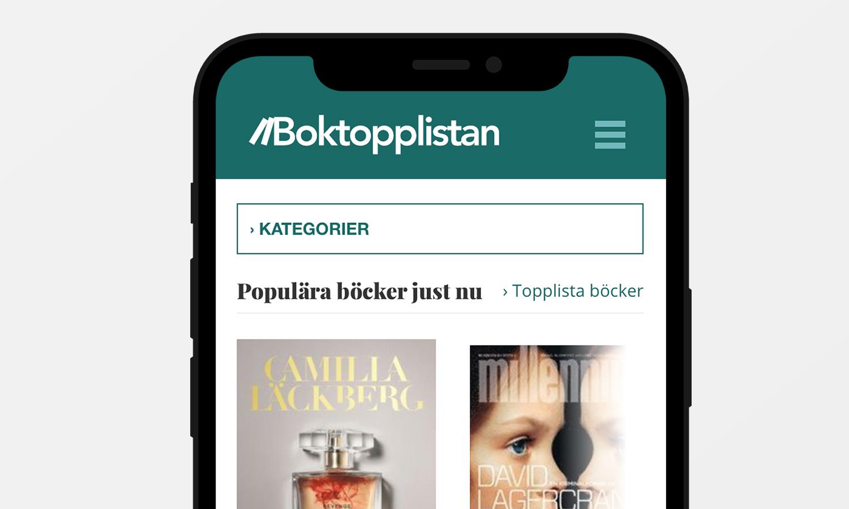 Boktopplistan
